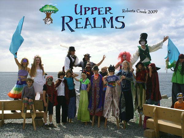 Upper Realms Stilt Troupe